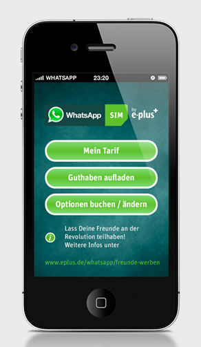 e-plus whatsapp