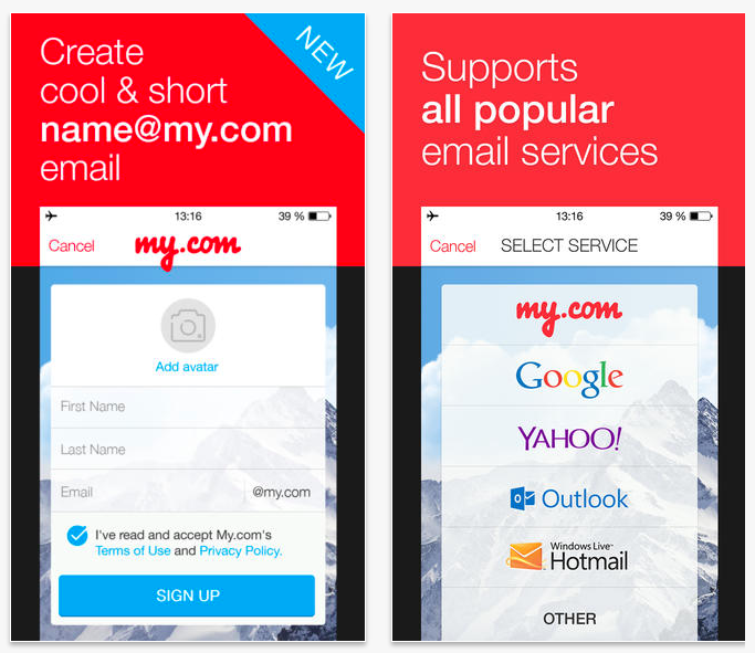 Mail ru's My com App Adds Password-Free Email, CEO Backs