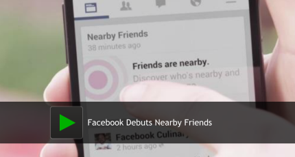 Hands On With Facebook Nearby Friends [Video]: No More