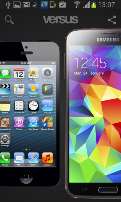 Versus Android - Apple v Samsung