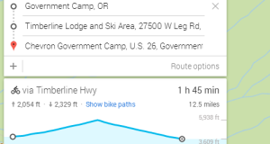 Google Maps Adds Elevation Profiles To Bike Routes To Help You Avoid - Track my distance google maps