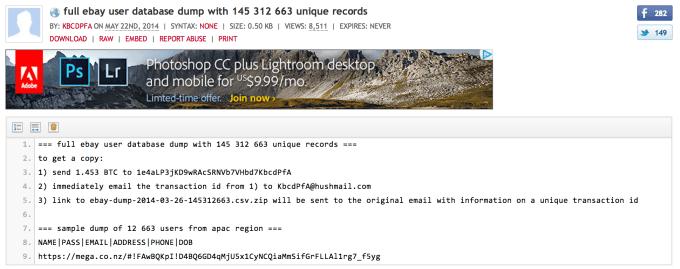 datadump-pastebin