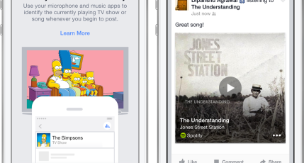 Facebook Adds Shazam-Style Audio Recognition To Help You