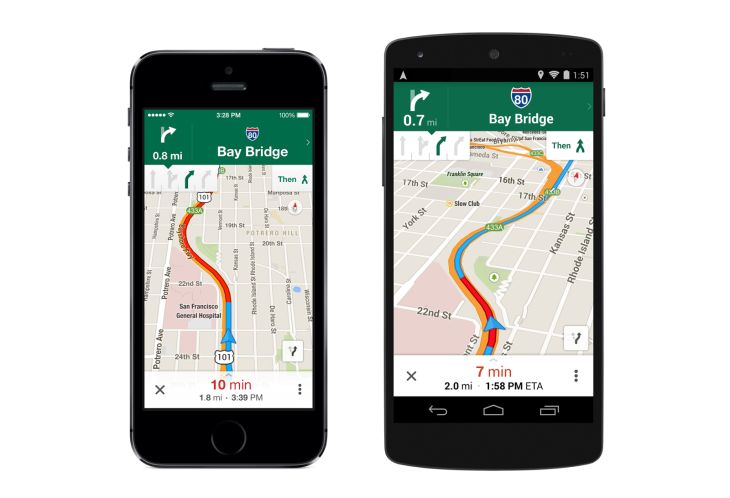 Google Maps On Mobile Gets Uber Integration And More TechCrunch - Google Maps Us 101