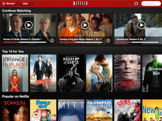 Netflix Grid