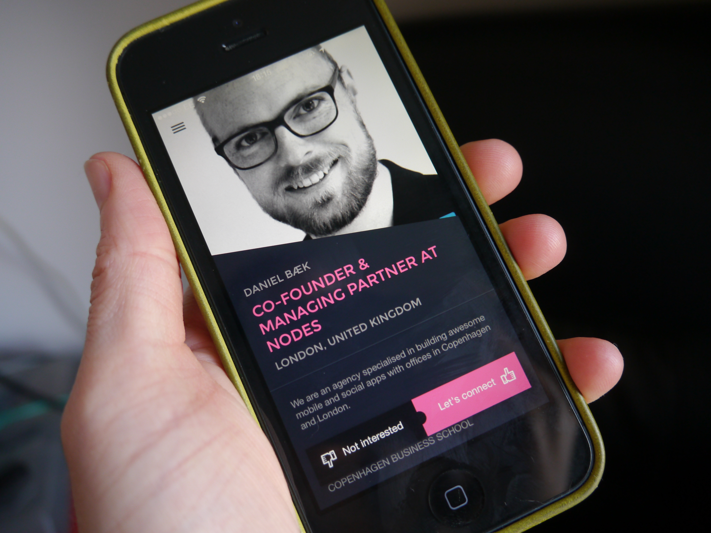 Business dating app