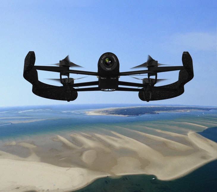 Parrot's Newest Drone Packs A Serious Camera, Extreme Range