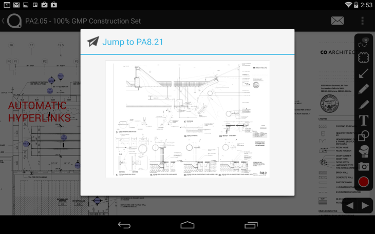 Plangrid makes its blueprint app now available on android tablets plangrid android malvernweather Gallery