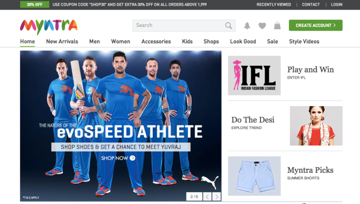 Indian Ecommerce Giant Flipkart Buys Fashion E-tailer ...