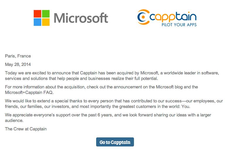 capptain microsoft