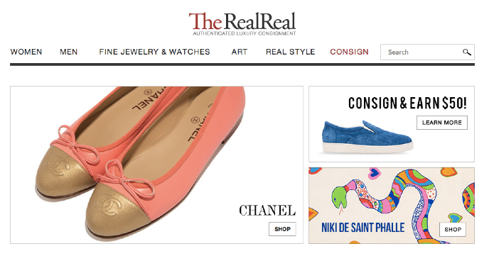 a1d79a0b1ffa54 Online Consignment Store For Luxury And Designer Goods The RealReal Raises  $20M | TechCrunch