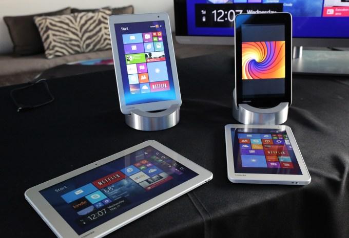 Toshiba Encore 2 & Excite Go Tablets