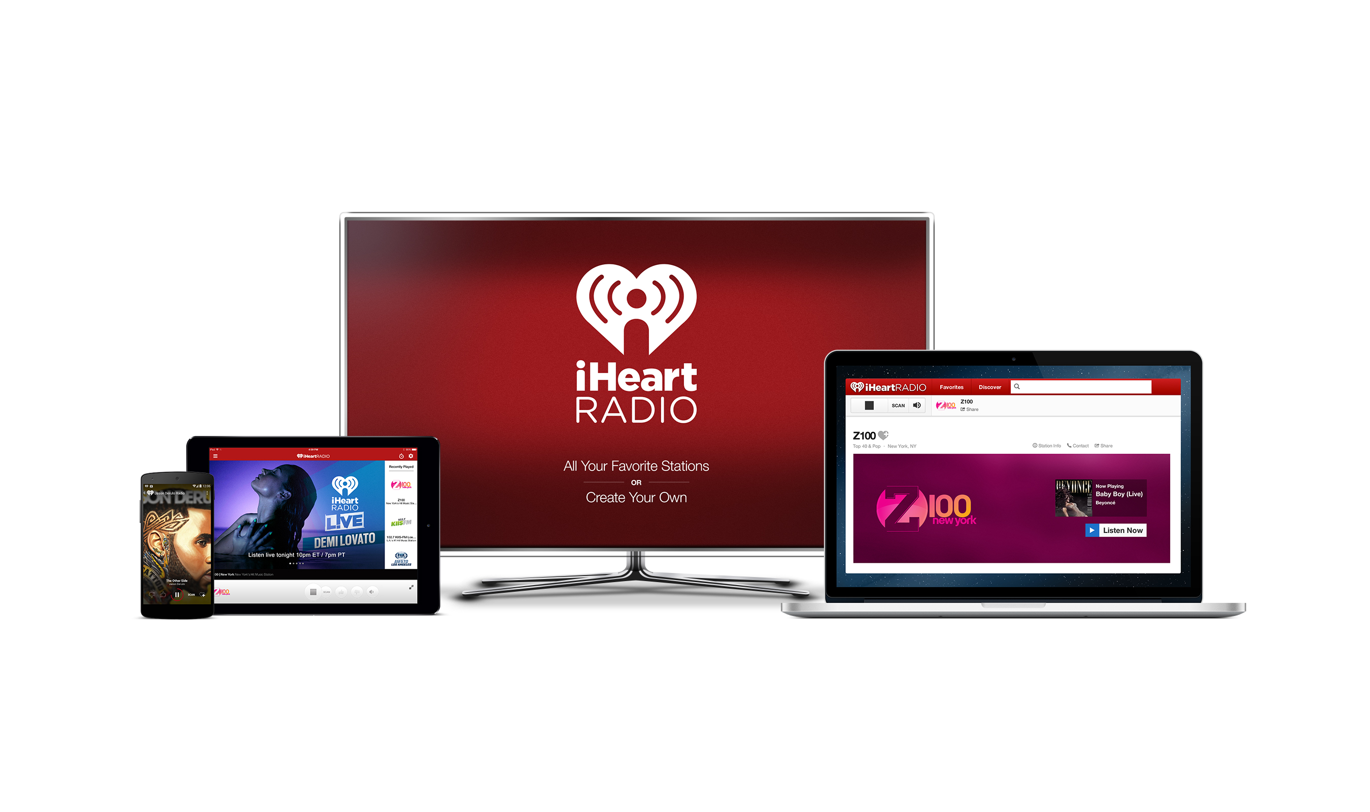 iHeartRadio will launch two paid, on-demand music services