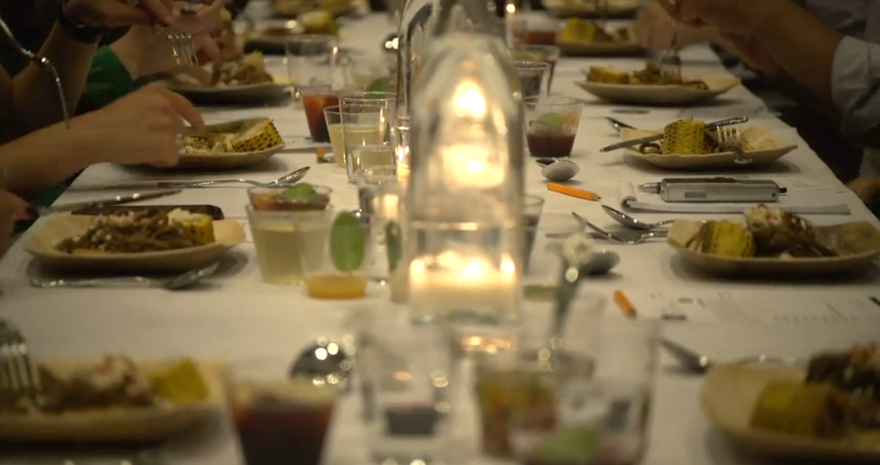 a formal set how watch youtube table to dinner