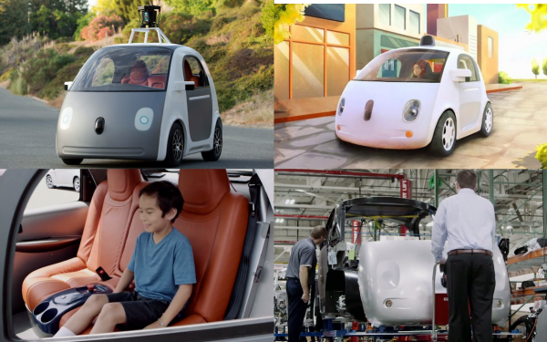 With Google's self-driving car and its investment in Uber, what does the future hold?