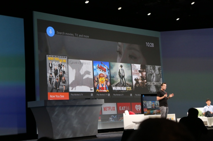 Google Introduces Android TV, Its New Platform For Smart TV
