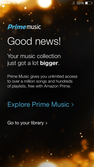 amazon music iOS