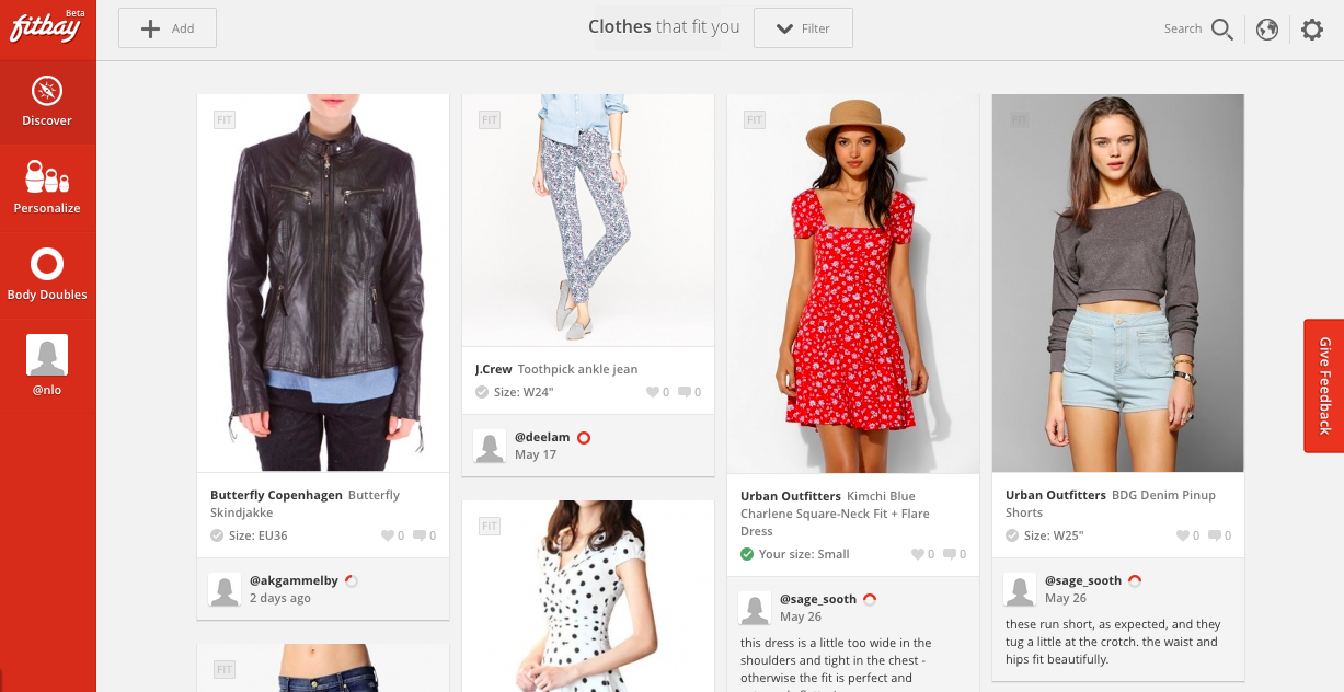 Fitbay Bags Another 2m For Its Crowdsourced Approach To Online Clothes Shopping S Fit Problem