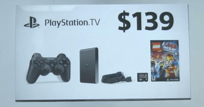 PlayStation TV bundle