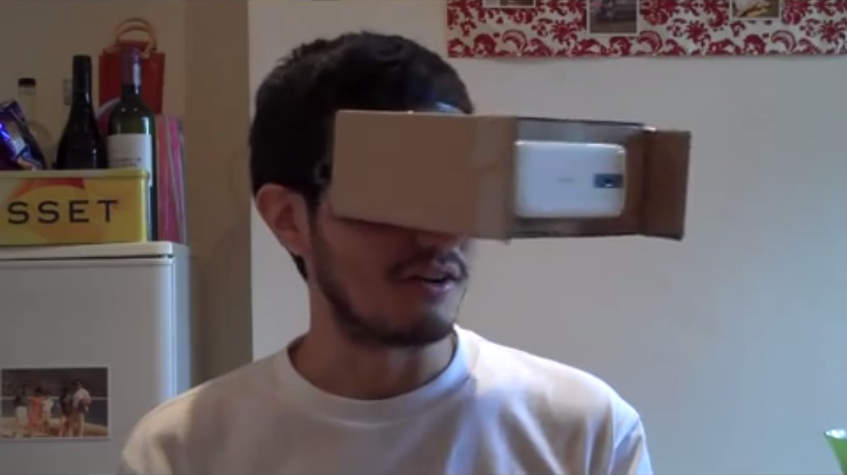 How To Make Your Own #Cardboard VR Goggles   TechCrunch