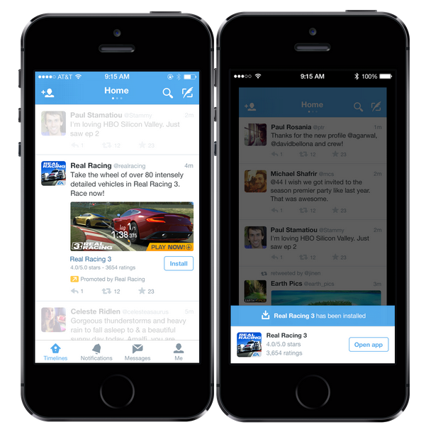 Twitter Rolls Out App Install And Engagement Ads, And New Click
