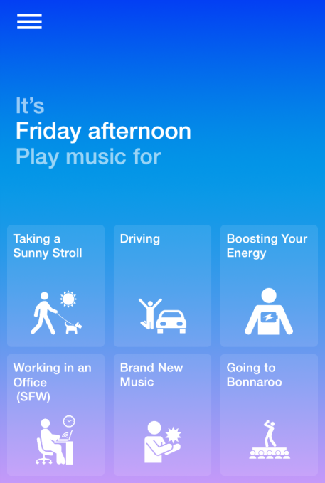 Songza Music Concierge