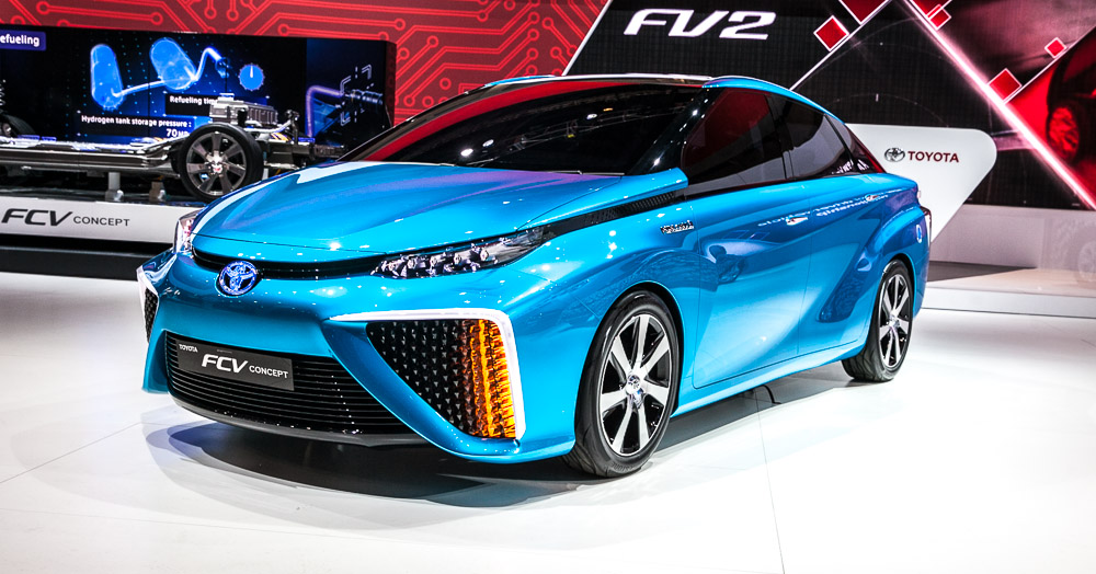 Fuel-Cell Cars Are Going To Get A Big Boost In California Next Year