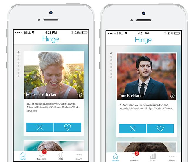 High class dating app