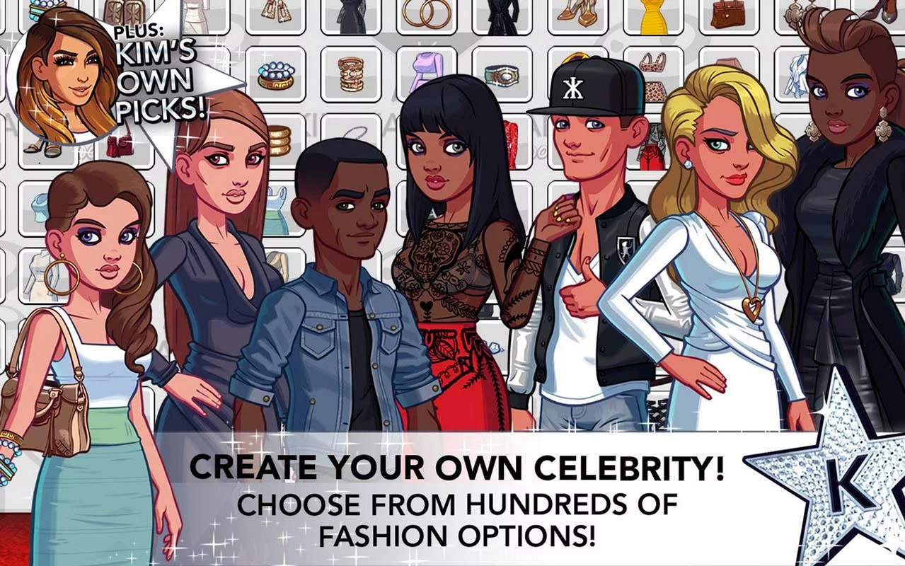 Kim kardashian hollywood game dating dirk