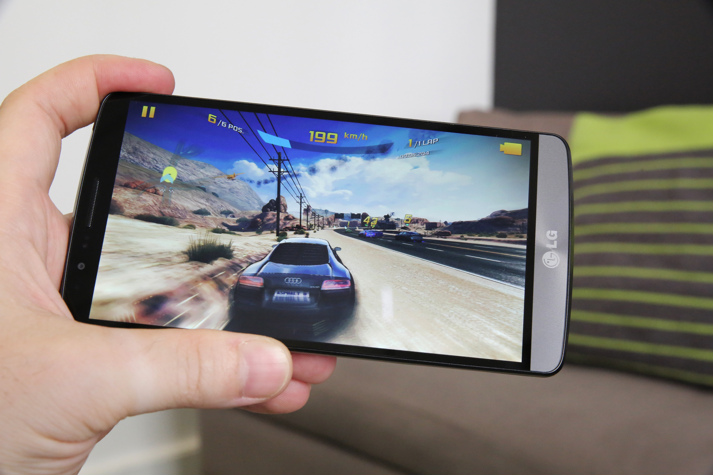 LG G3 Asphalt 2 Gameplay