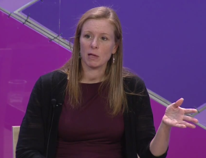 Facebook Head Of Global Policy Management Monika Bickert speaking at the Aspen Ideas Festival, 7/1/2014