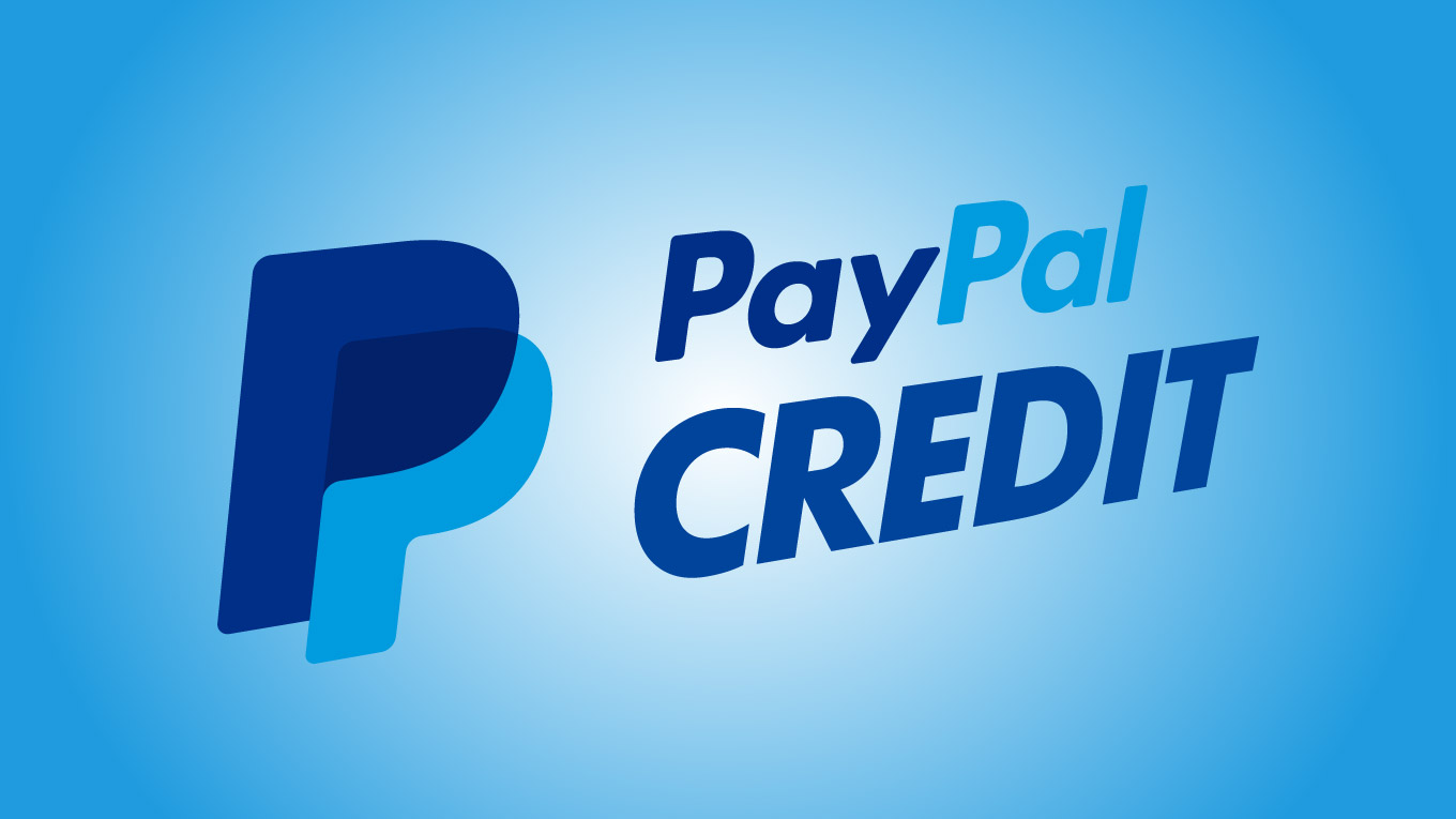 How do you accept paypal credit on ebay