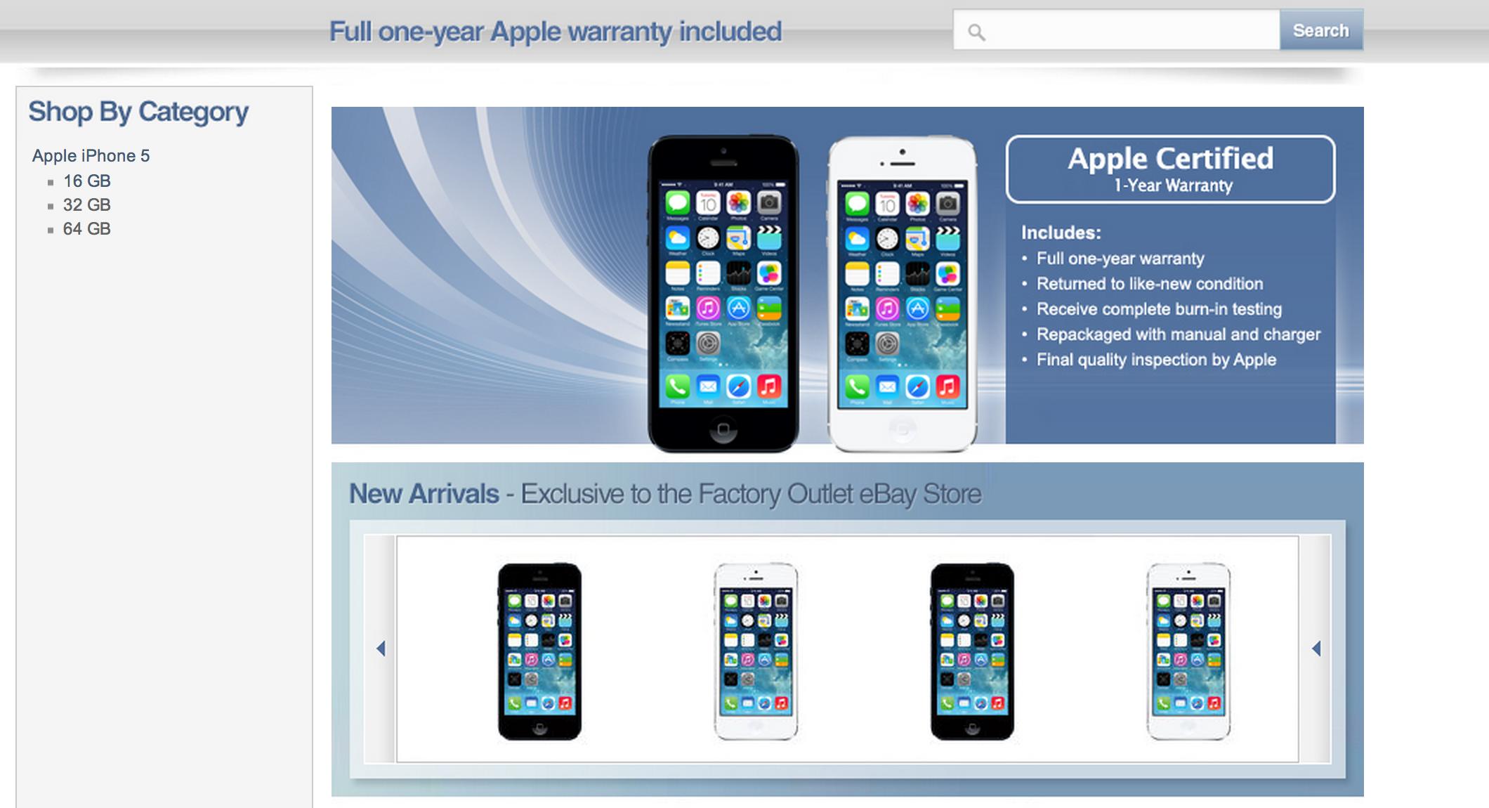 Apple S Secret Ebay Store Returns Updated Techcrunch
