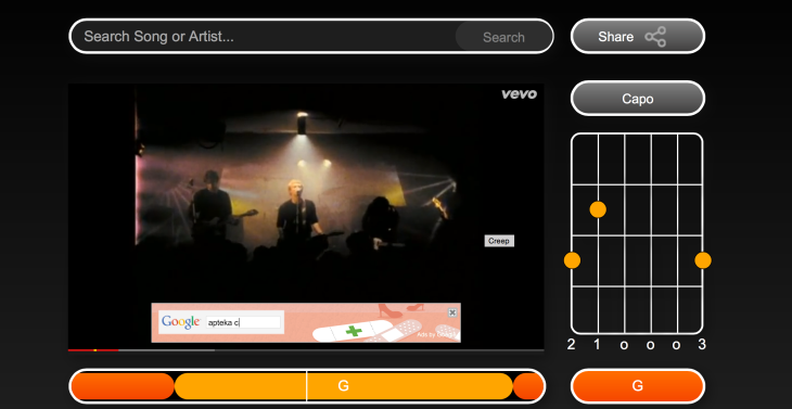 Riffstation Play Makes It Easy To Play Along With YouTube