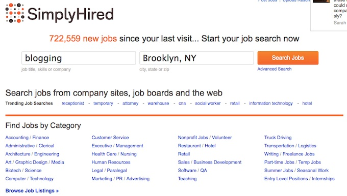 Simply Hired Raises $12M More For its Job Search Engine