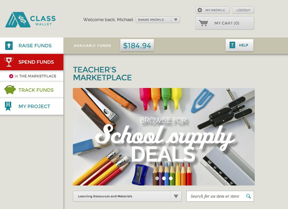 Teacher Marketplace - Learning Resources and Materials Category