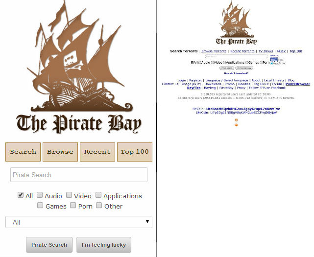 is pirate bay a safe site