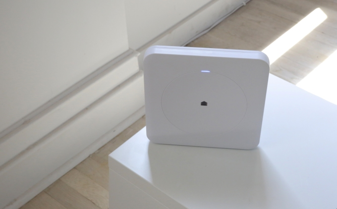 The Wink Hub allows users to control their smart appliances through an app on their smartphone.