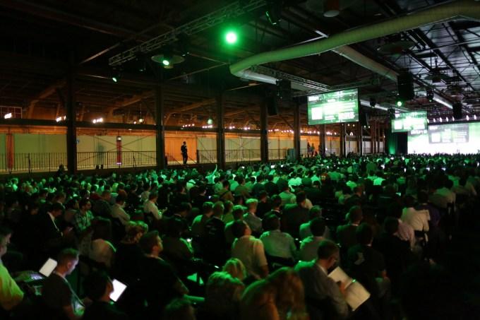 Techcrunch Disrupt SF 2013. Photo by Max Morse for Techrunch.