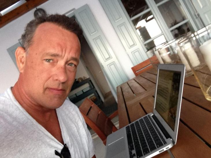 Tom Hanks Name Can Do More Than A Movie It Seems His Recently Launched Hipster Ish Typewriter For Ipad Hanx Writer Has Now Shot To The Top Of