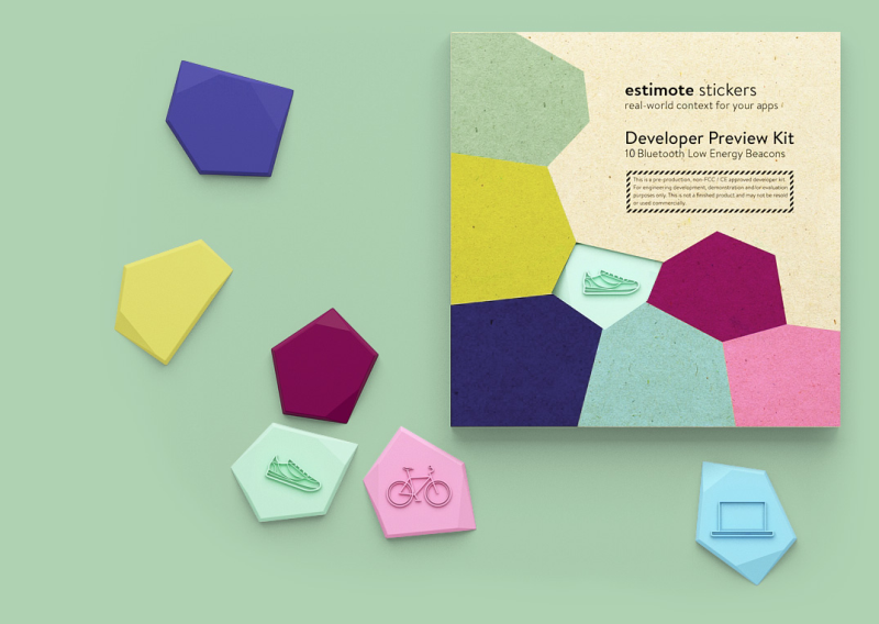 Estimote Wants To Pioneer 'Nearables' With New Stickers