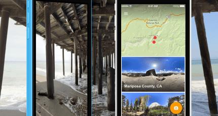 google 360 camera app iphone