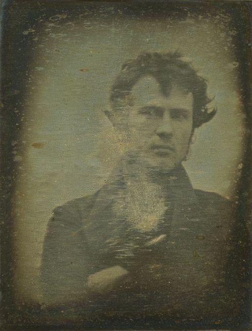 Robert Cornelius selfie