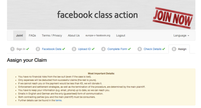 fb class action