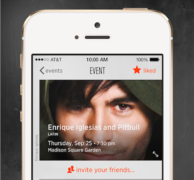 StubHub Music Takes On Music Concert Discovery Apps WillCall And Live  Nation | TechCrunch