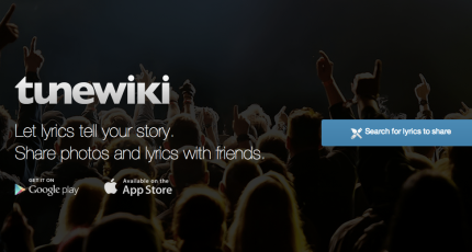 Tunewiki A Por Social Music With Millions Of Users That Let People See The Lyrics To Songs They Were Streaming On Spotify And Other Platforms