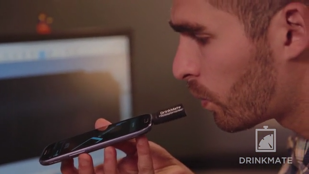 DrinkMate Is A Tiny, Plug-In Breathalyzer For Android