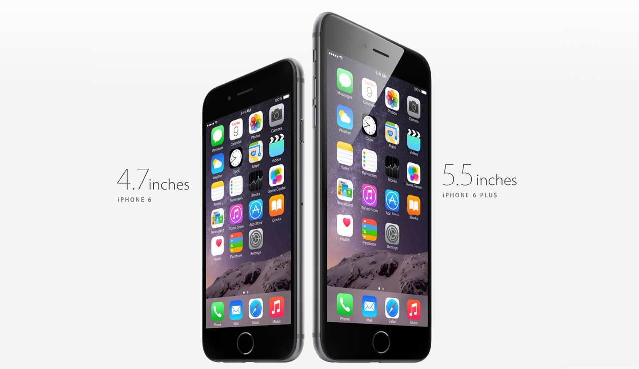 apple iphone announcement apple announces two new iphones iphone 6 and iphone 6 10107
