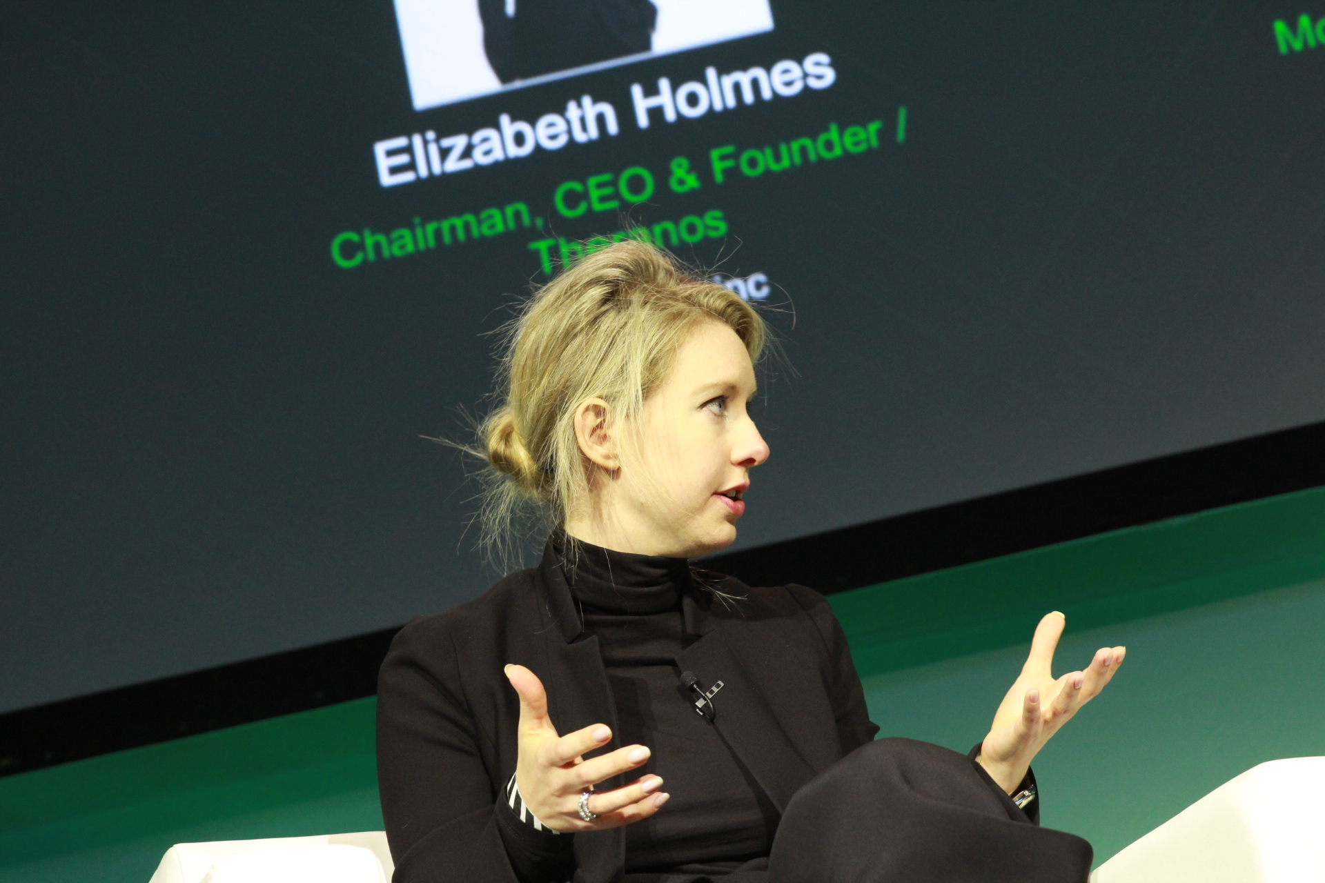 Theranos is offering investors Elizabeth Holmes' shares if