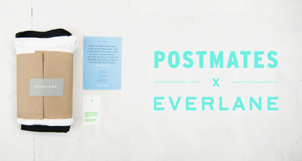 9480a085afb Postmates Partners With Everlane To Bring Customers Select Items On-Demand  In San Francisco